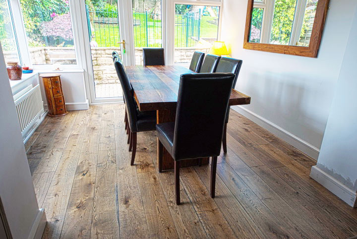 Dining-Room wood floor