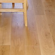 brushed and oiled oak floor