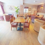 Distressed-oak-flooring-Victoria-Inn-tables-and-chairs