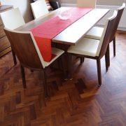 Merbau parquet floor