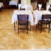 Herringbone parquet floor-breadth